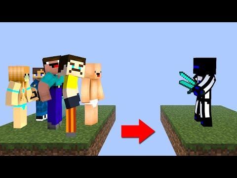 ОДИН СРЕДНИЙ ИГРОК ПРОТИВ 5 НУБОВ КТО ПОБЕДИТ? - (Minecraft Egg Wars)