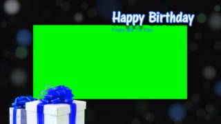 download lagu Happy Birthday Green Screen Background  Animation gratis