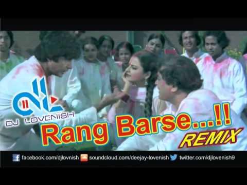 Rang Barse - best of amitabh - DJ Lovenish Remix