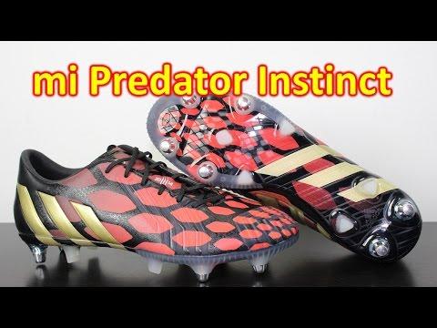 mi Adidas Predator Instinct Black/Solar Red/Black - Review + On Feet