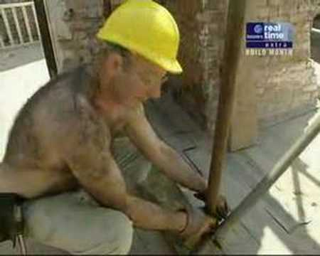 Monkey builder - hairy gay icon Video