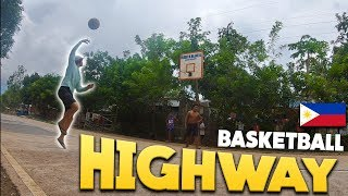 Foreigner First Filipino Province Basketball on HIGHWAY!?