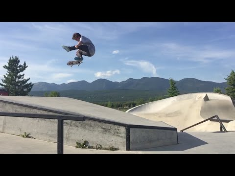 Sierra Fellers, Chris Haslam and Brad McClain take a trip to skate Montana