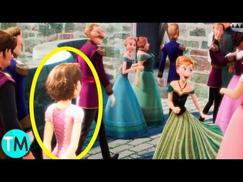 10 Increíbles Detalles Ocultos En Películas De Disney