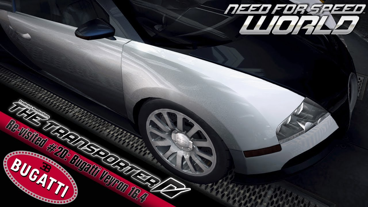 need for speed world re visited 20 bugatti veyron 16 4 youtube. Black Bedroom Furniture Sets. Home Design Ideas