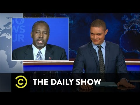 The Daily Show - Ben Carson's Public Breakup