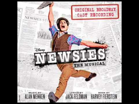 Newsies (original Broadway Cast Recording) - 9. Seize The Day video