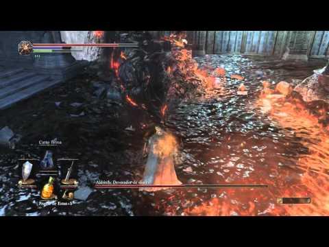 Dark Souls 3 Boss Aldritch, Devorador De Dioses (Devourer Of Gods) Gameplay PC Guía