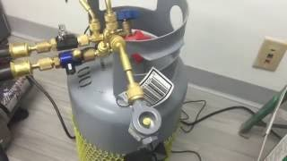 Demonstration of Moisture Removal in a Vacuum