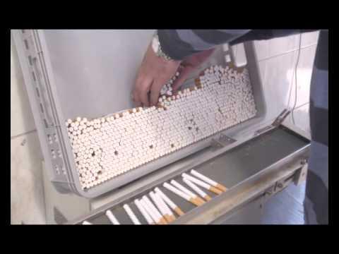 PROF 250 - maszyna do profesjonalnej produkcji papierosów