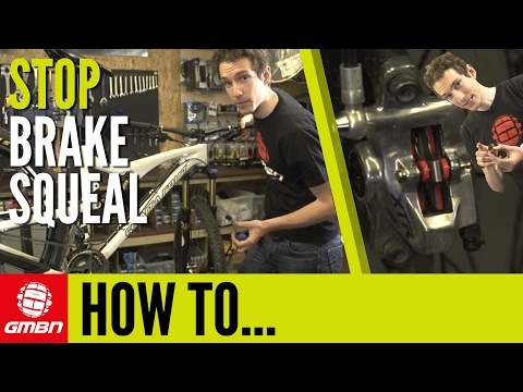 How To Stop Your Disc Brakes Squealing - Mountain Bike Maintenance Tips