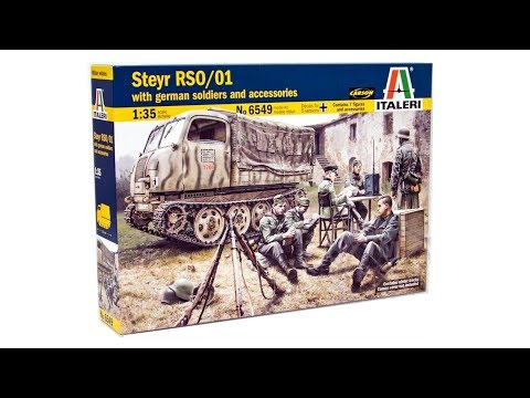 Inbox Review - Italeri Kit #6549. Steyr RSO/01 With German Soldiers And Accessories