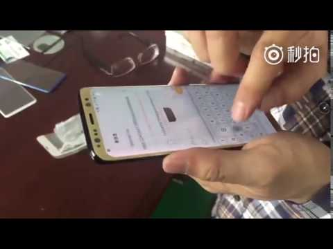 Galaxy S8 Touch Sensitivity Test Shown In Hands On Video