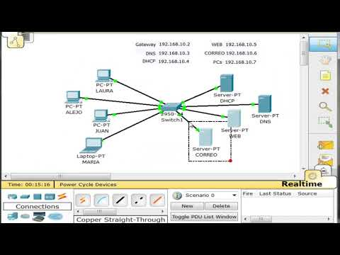 Servidor de Correo con Cisco - Packet Tracer
