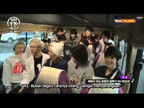[INDOSUB] 150502 MBC Music SEVENTEEN PROJECT Debut Big Plan EP1