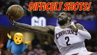 Every NBA Star's MOST Difficult Shot!
