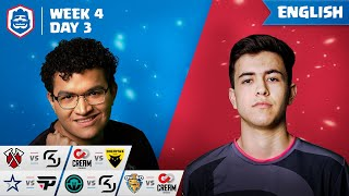 Clash Royale League: CRL West 2019 | Week 4 Day 3! (English)