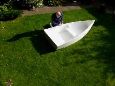 home made Folding boat Part 1
