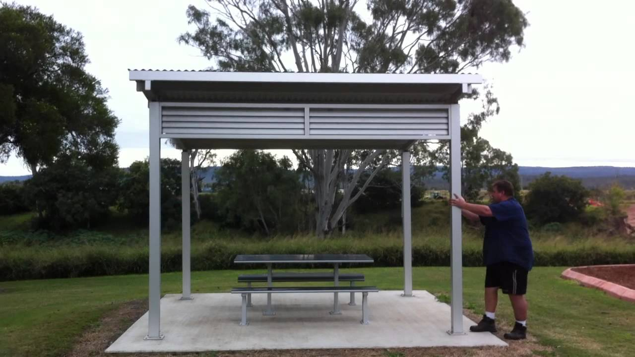 BBQ Shelter Movement - YouTube