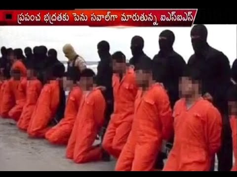 Terrified News : ISIS Terrorists Killing Innocent People & Journalist Video