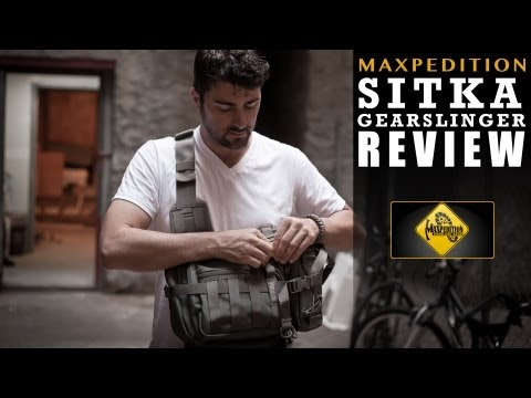 Maxpedition Sitka Gearslinger REVIEW: Bag of the future?