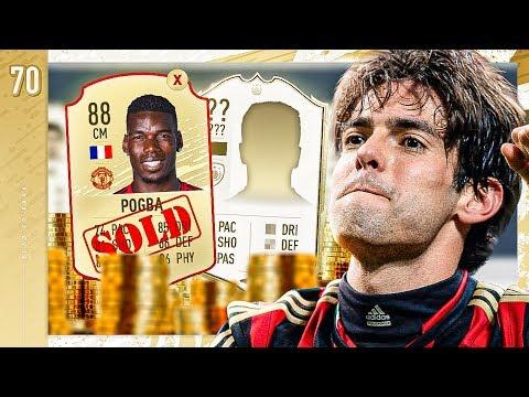 WE SOLD POGBA & YOU CHOSE THE ICON!! - FIFA 20 KAKA ROAD TO GLORY #70
