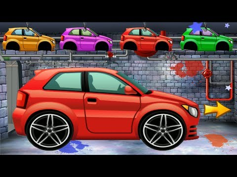 Car Factory for Kids - Dream Cars Service Car Factory | CAR WASH | Videos for kids