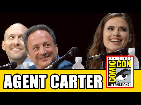 Agent Carter Comic Con Panel 2014 - Hayley Atwell