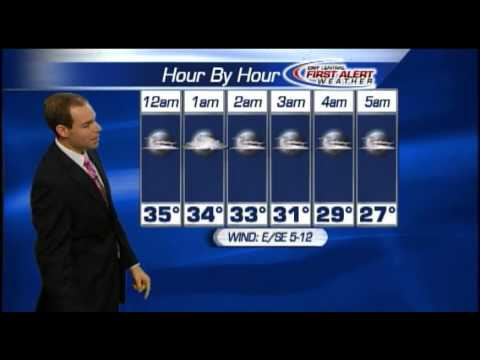 Meteorologist Matt Stevens Sunday morning weather forecast 4-21-2013