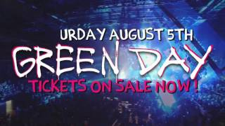 Green Day @ Oakland Coliseum - Saturday, August 5th
