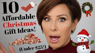10 Affordable Christmas Gift Ideas (All Under $25!) | Dominique Sachse
