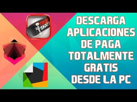 Descargar aplicaciones android de pago GRATIS desde la PC.