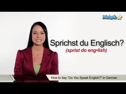 Learn to speak german lessons