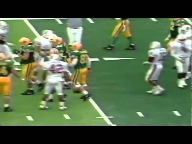 Oregon RB Sean Burwell 30 yard reception vs. Stanford 11-02-1991