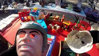 Live Retro Toy Hunting #30 Flea Market & Thrift Store Finds Thats a First!!