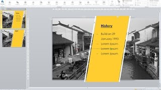 [Creative PPT] Dynamic Background Animating PowerPoint Slide Tutorial