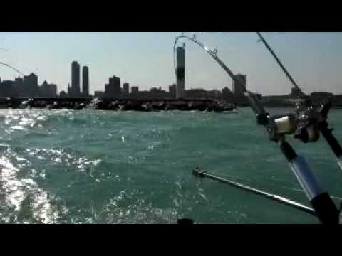 Salmon Fishing Report Milwaukee 4/17/2010