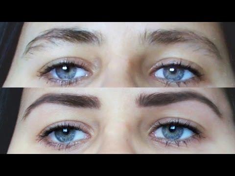 Ako správne vytvarovať obočie  How To Get Your Eyebrows In Shape