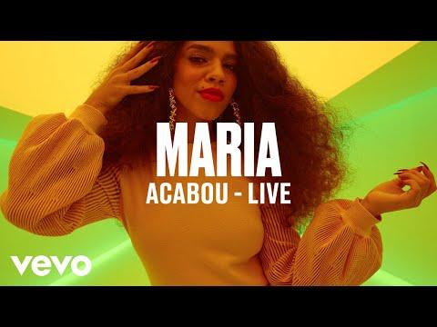 "MARIA - ""Acabou"" (Live) | Vevo DSCVR"