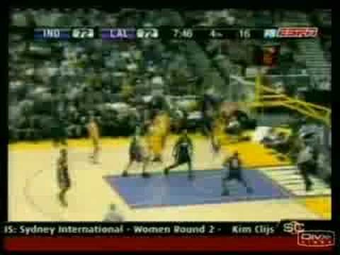 Kobe spins away from Fred Jones then 360s Video