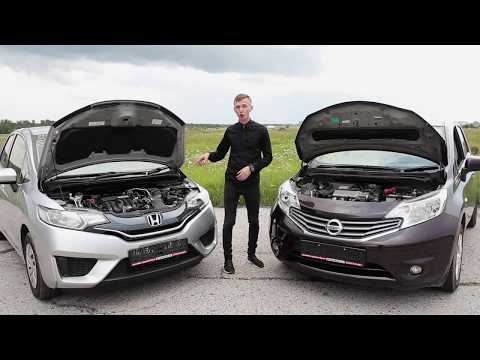 Honda fit VS Nissan note