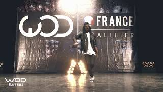 SALIF FRONTROW WORLD OF DANCE FRANCE WOD 2017 MJ TRIBUTE  from Salif Gueye