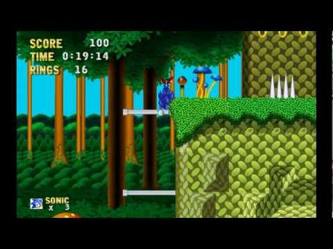 Testando a Demo do Sonic 3 HD