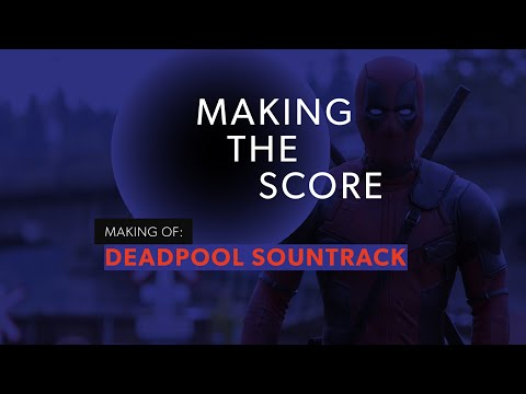 Making of Deadpool Soundtrack by Tom Holkenborg (aka Junkie XL) - Shows some of the sweet vintage synthesizer gear they used to create the signature 80s-ish music pallette for Deadpool