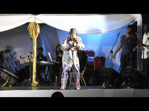 Ras Kommanda Live at Kaiso Showcase 2013 - First Time