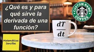 La derivada en una taza de café: una aplicación práctica de la vida cotidiana.
