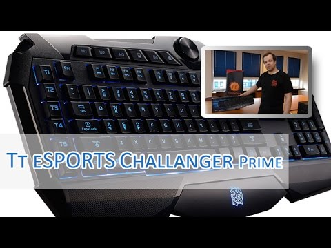 Tt eSPORTS Challenger Prime Hands on [german HD]