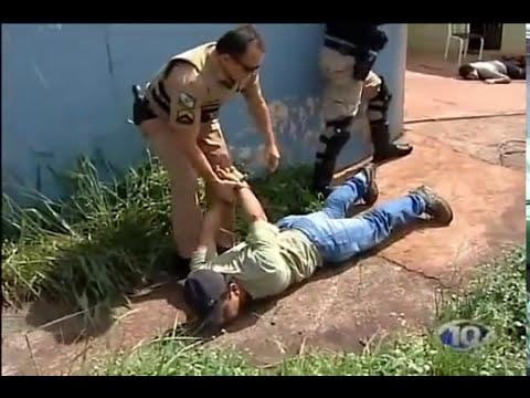 Troca de tiros entre PM e Bandidos Ladrão leva 3 Tiros
