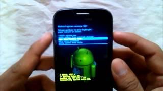 Resetear / Hard Reset Samsung Galaxy Trend GT-S7560M