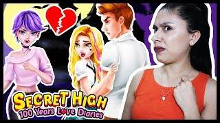 EXPOSING HER LOVE DIARY! - SECRET HIGH SCHOOL 8 - 100 Years Love Story Diaries